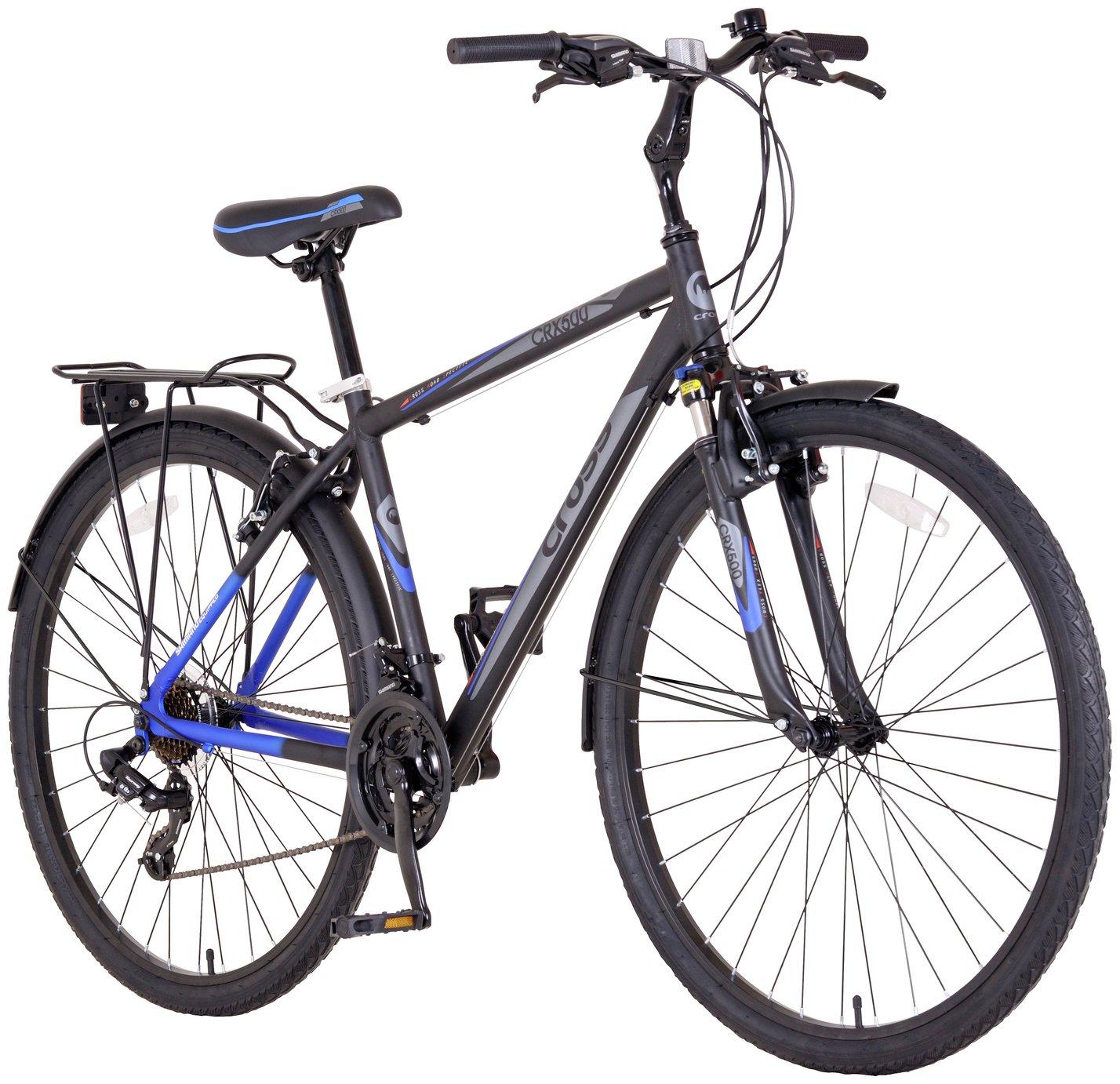 Image of Cross CRX500 700c Hybrid Bike - Mens