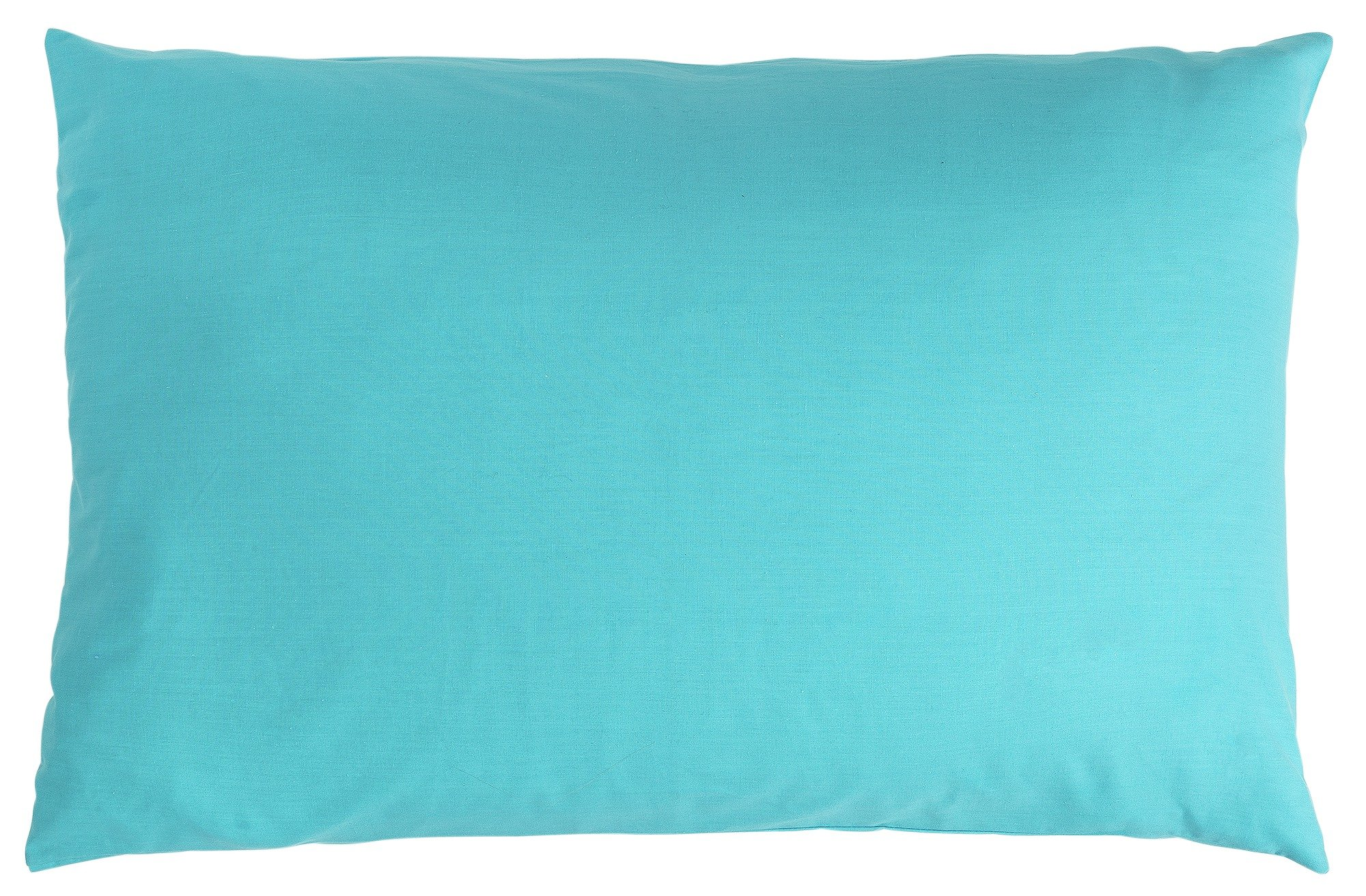colourmatch pair of housewife pillowcases  crystal blue