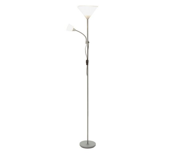 Buy home father and child floor lamp silver floor lamps argos click to zoom mozeypictures Gallery