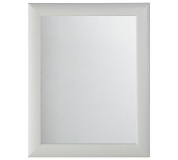 simple value framed mirror white - White Framed Mirror