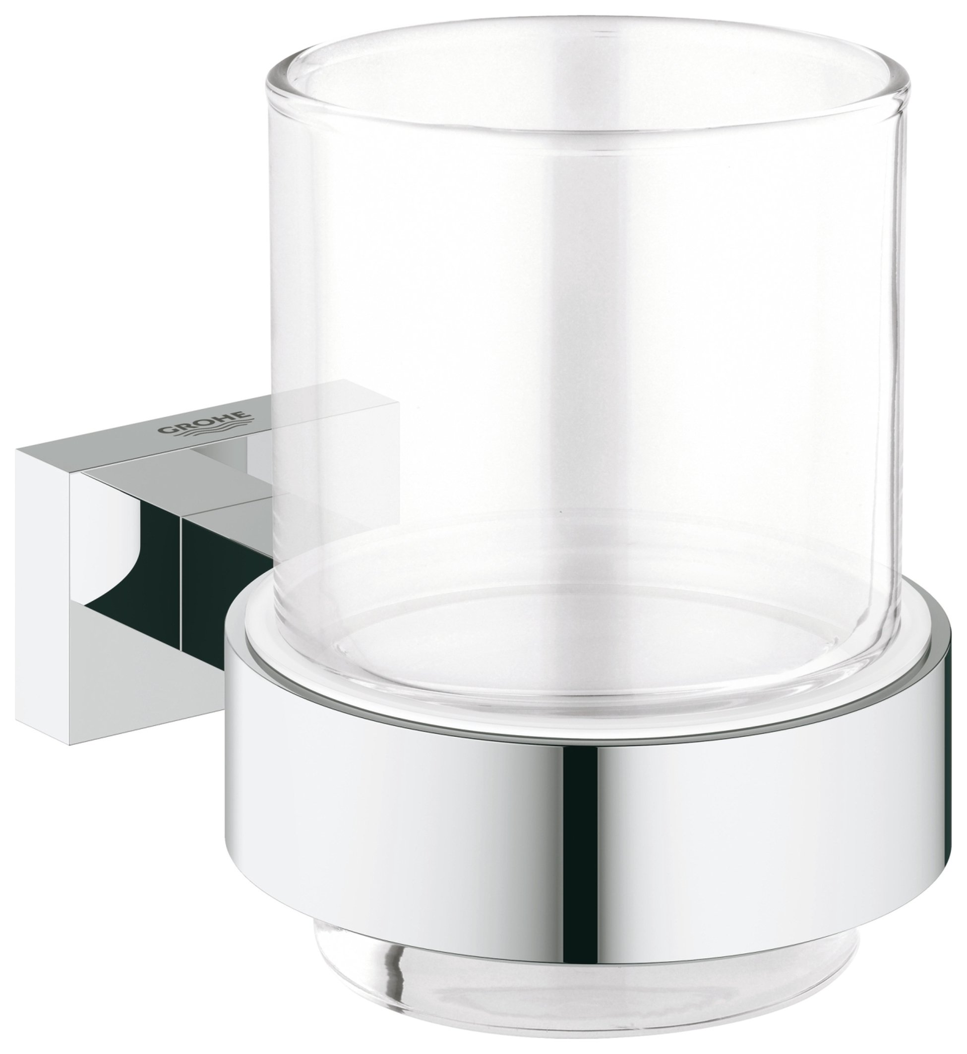 Image of Grohe Essentials - Cube Glass with Holder