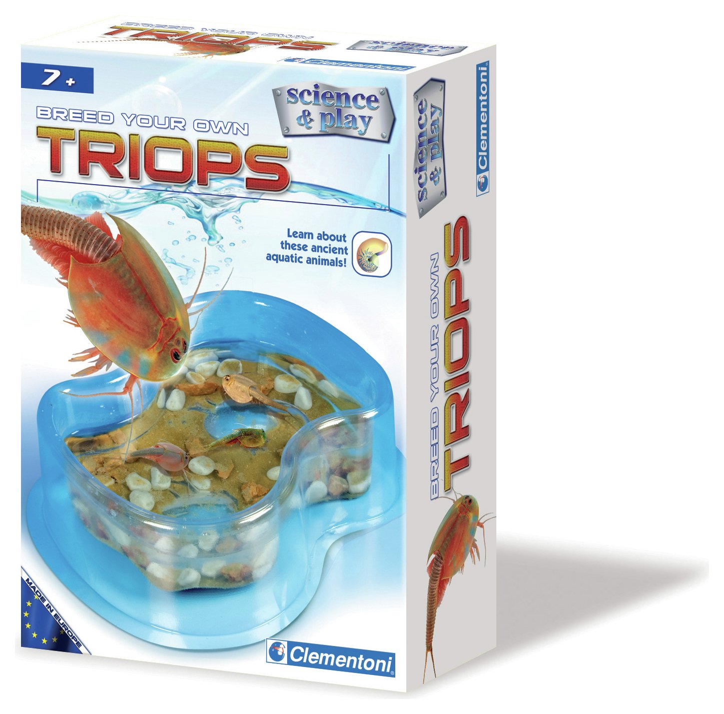 Image of Clementoni Breed Your Own Triops Kit.