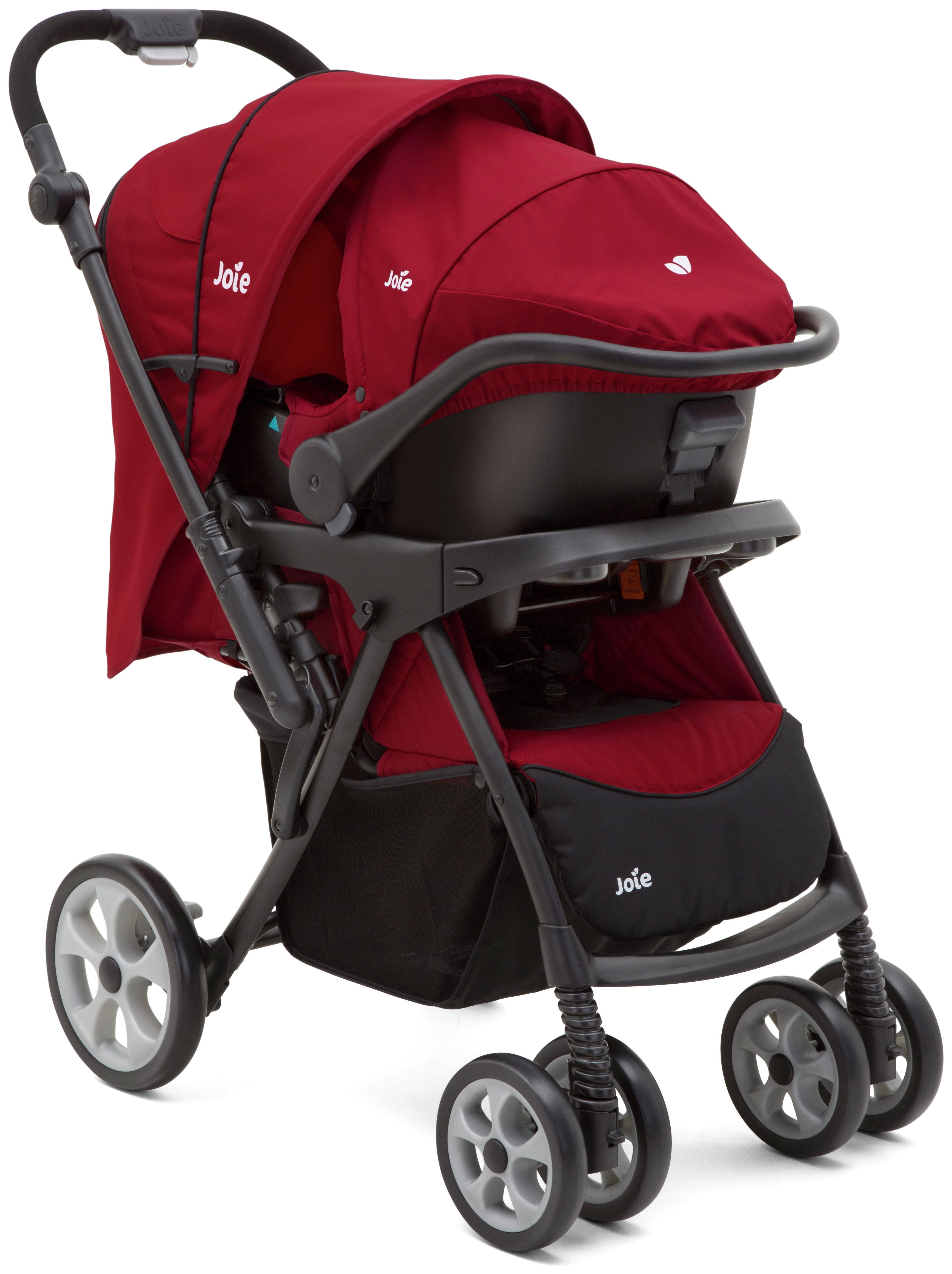 Image of Joie Extoura Travel System - Red