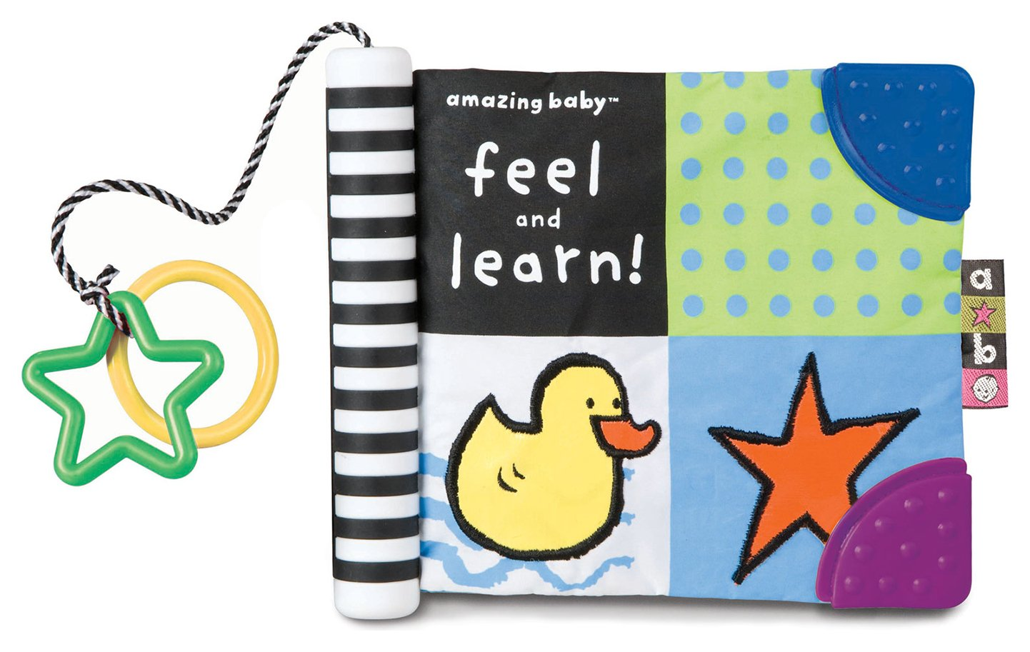 Image of AB Feel and Learn Soft Book.