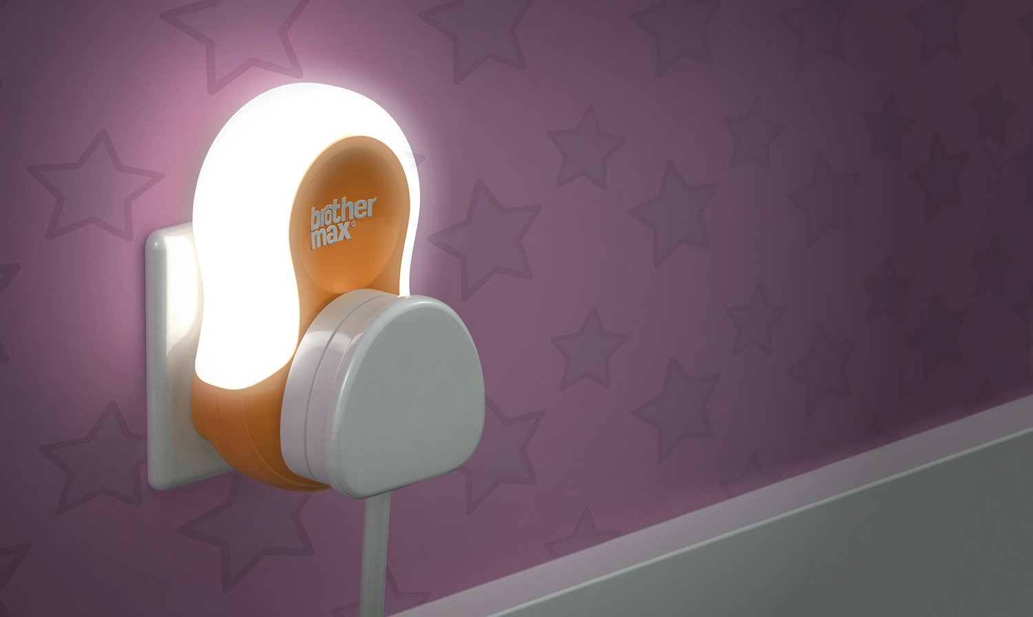 Image of Brother Max Plug in Nightlight
