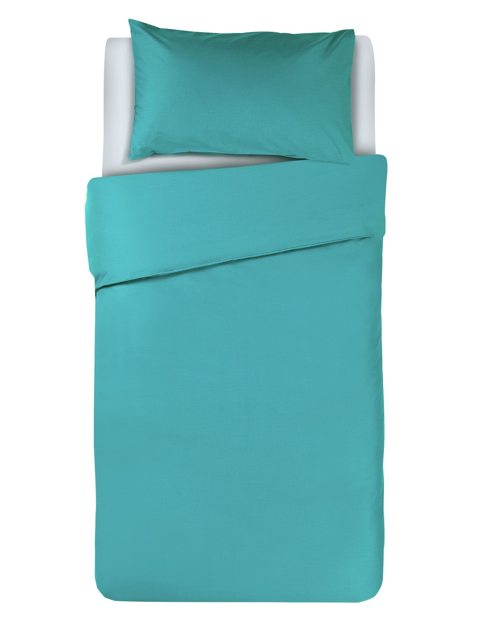 colourmatch teal bedding set  single