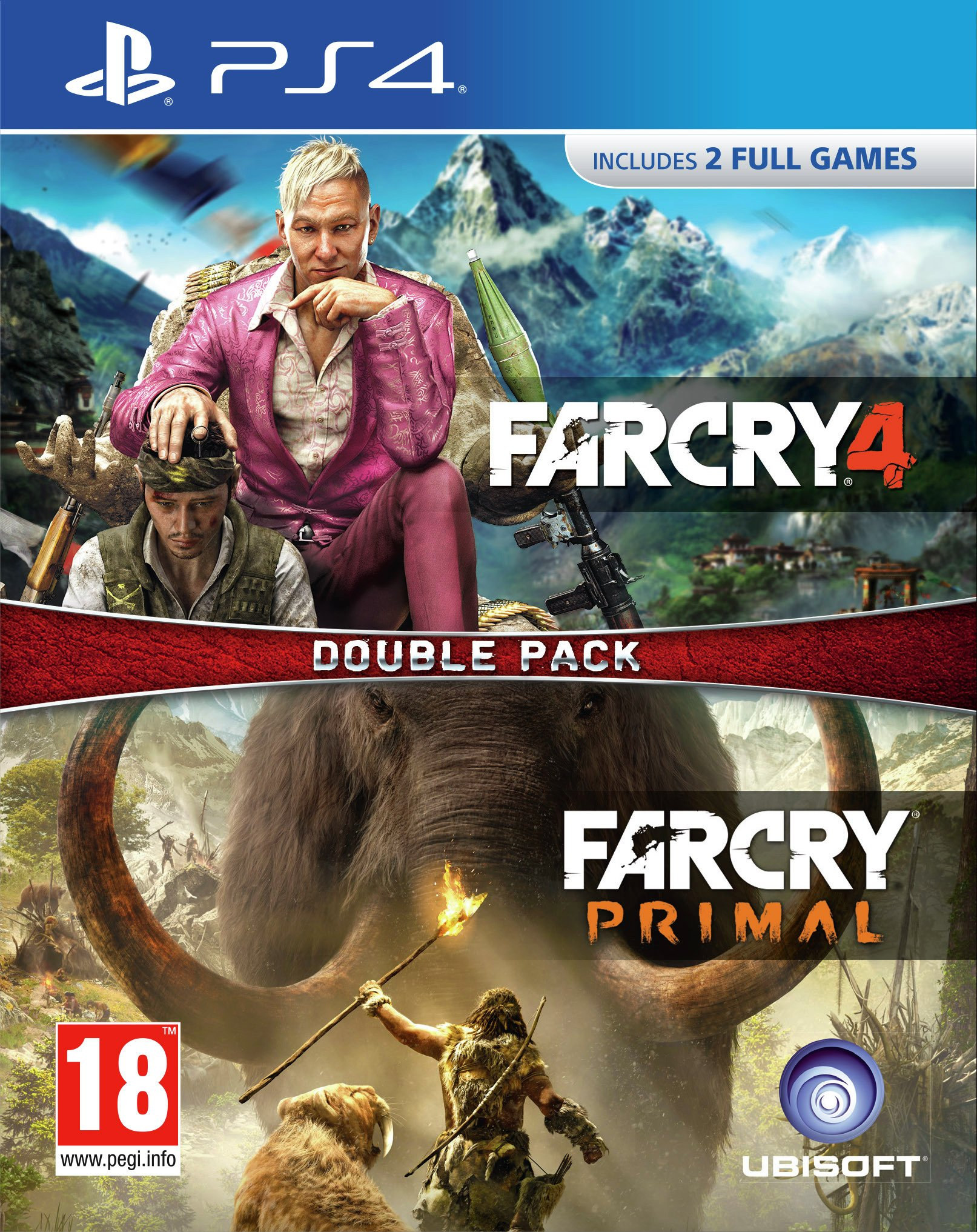 Far Cry: Primal and Far Cry 4 PS4 Games