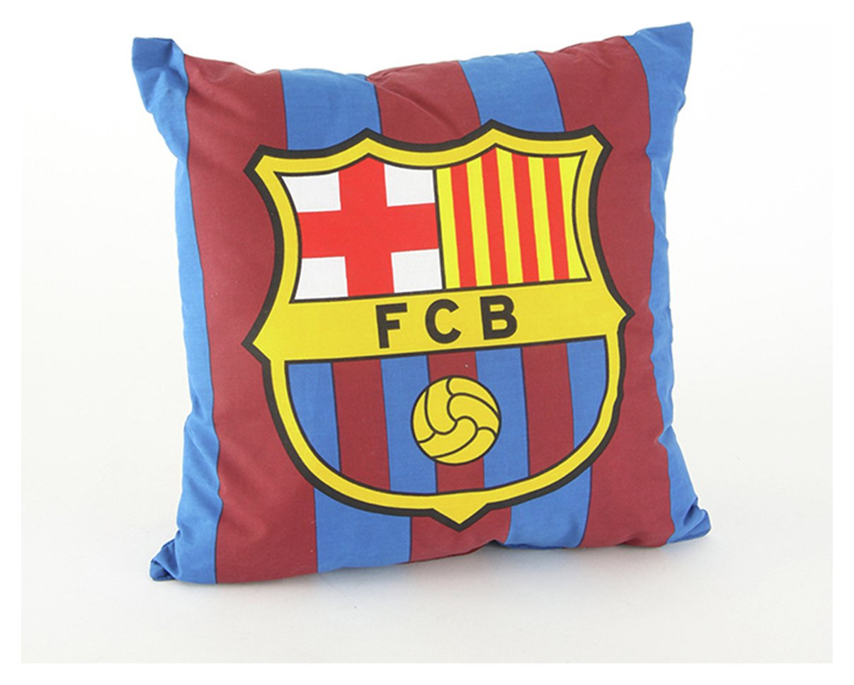 Image of FC Barcelona Crest Cushion.