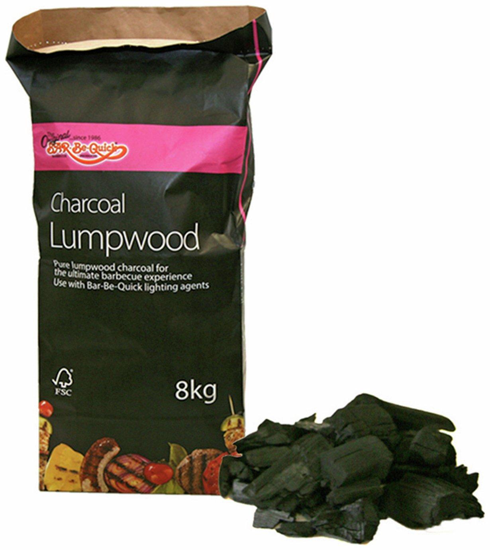 Image of Bar-Be-Quick - Charcoal Lumpwood - 8kg Bag