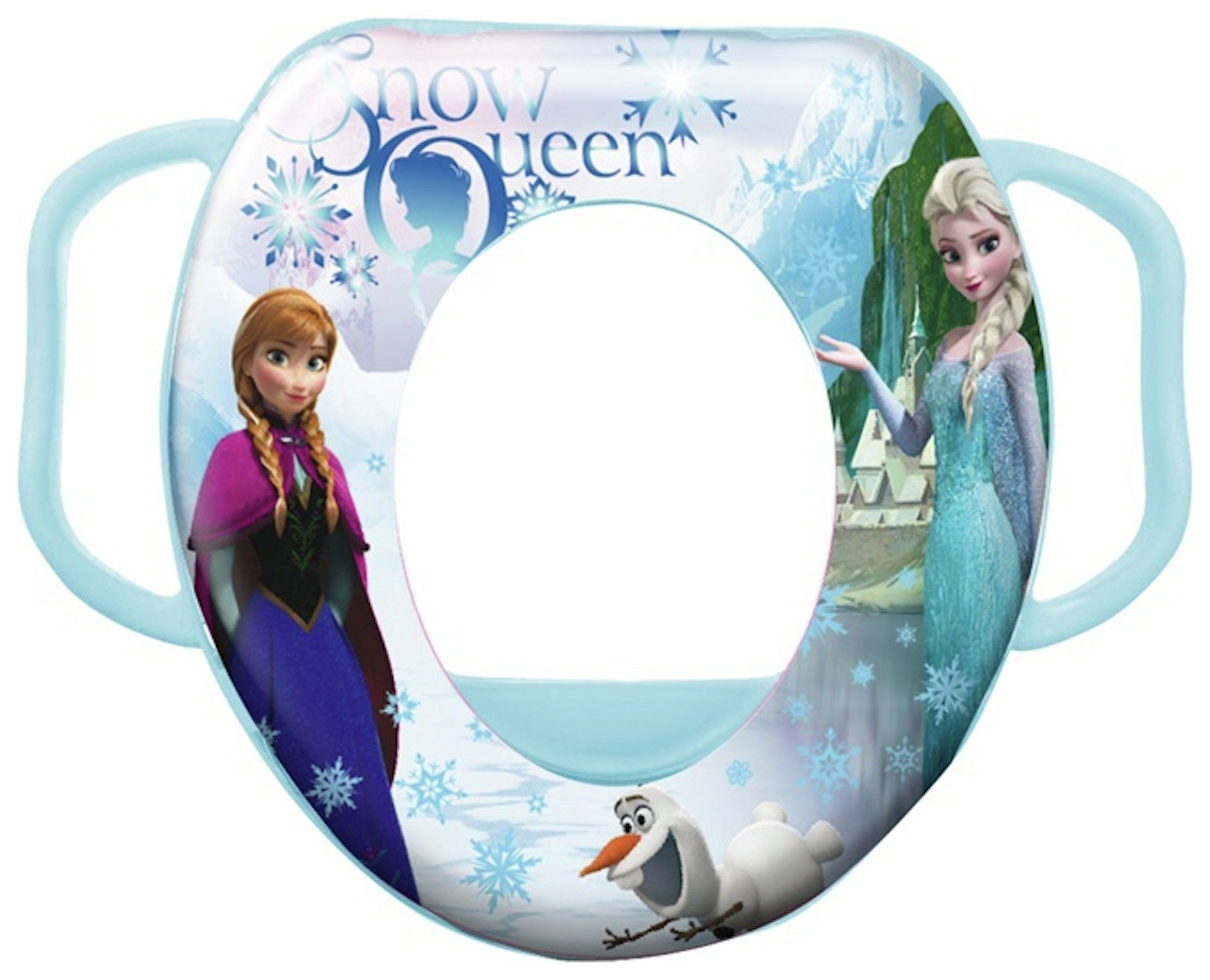 Image of Disney - Frozen Soft Padded - Toilet Seat