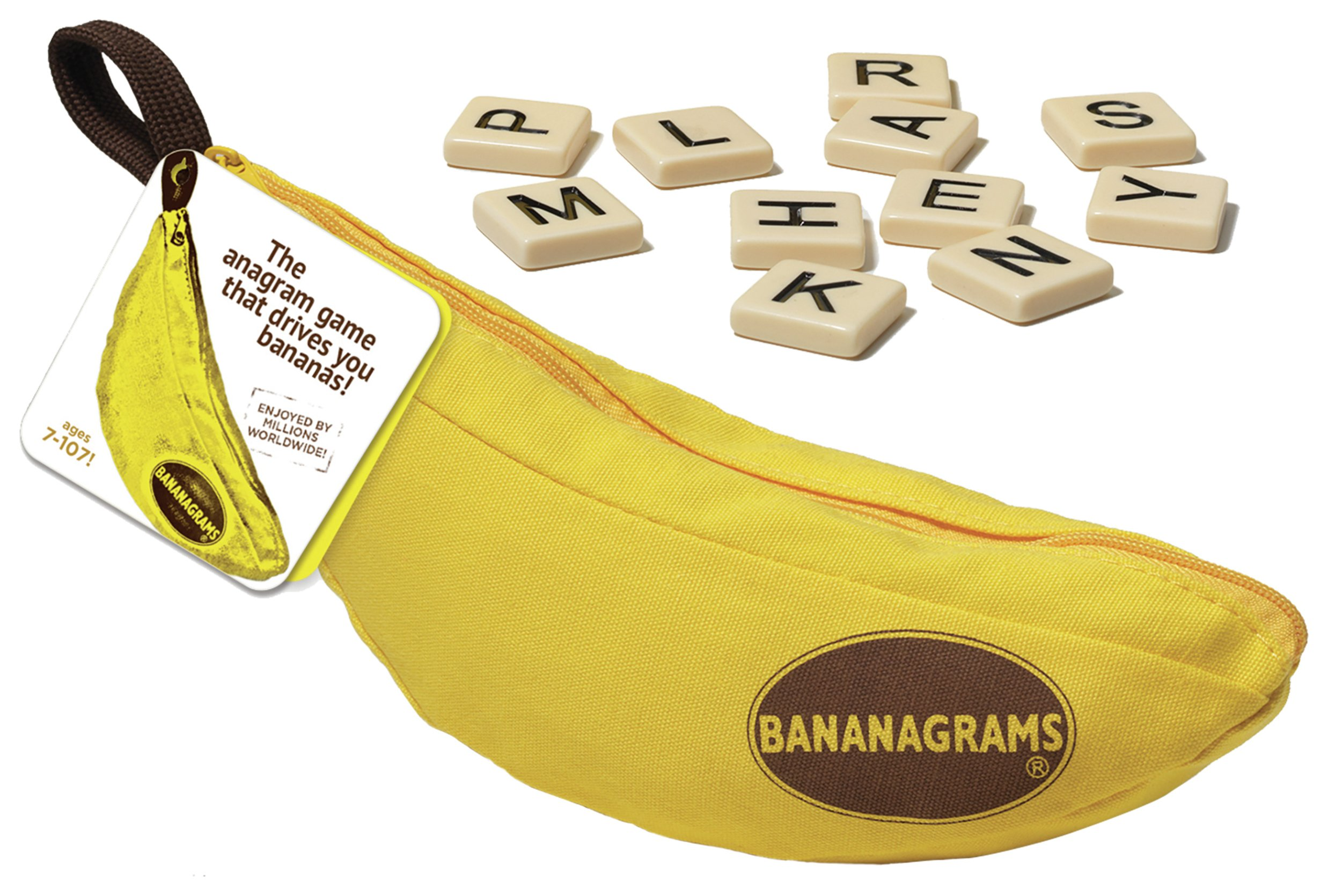 Image of Bananagrams Word Game.