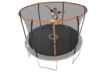 Image of the Sportspower 12ft Trampoline with Folding Enclosure.