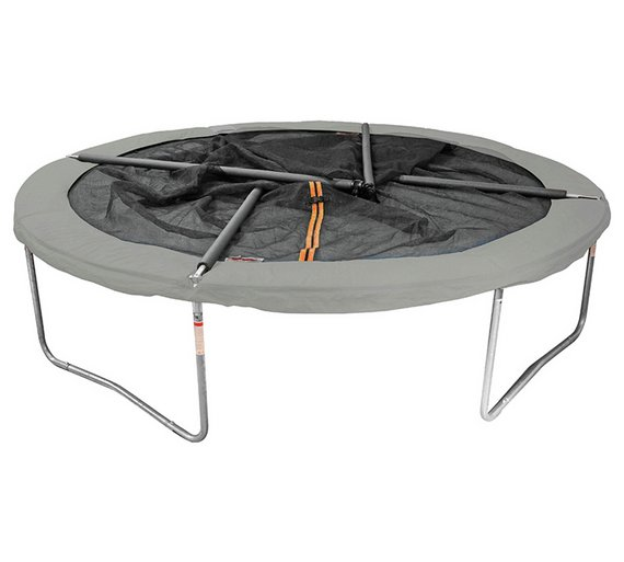 Buy Sportspower 12ft Trampoline With Folding Enclosure Trampolines