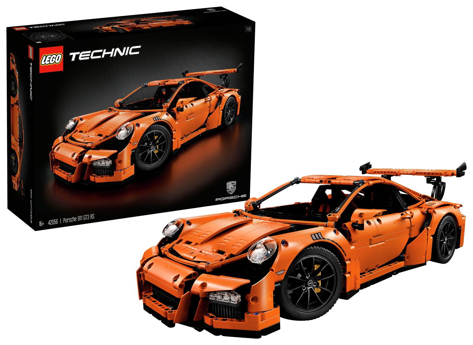 lego technic porsche 911 gt3 rs 42056 6074315 argos. Black Bedroom Furniture Sets. Home Design Ideas