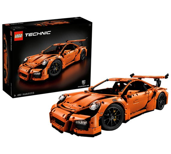 porsche lego  Buy LEGO Technic Porsche 911 GT3 RS Toy Car Replica - 42056 ...