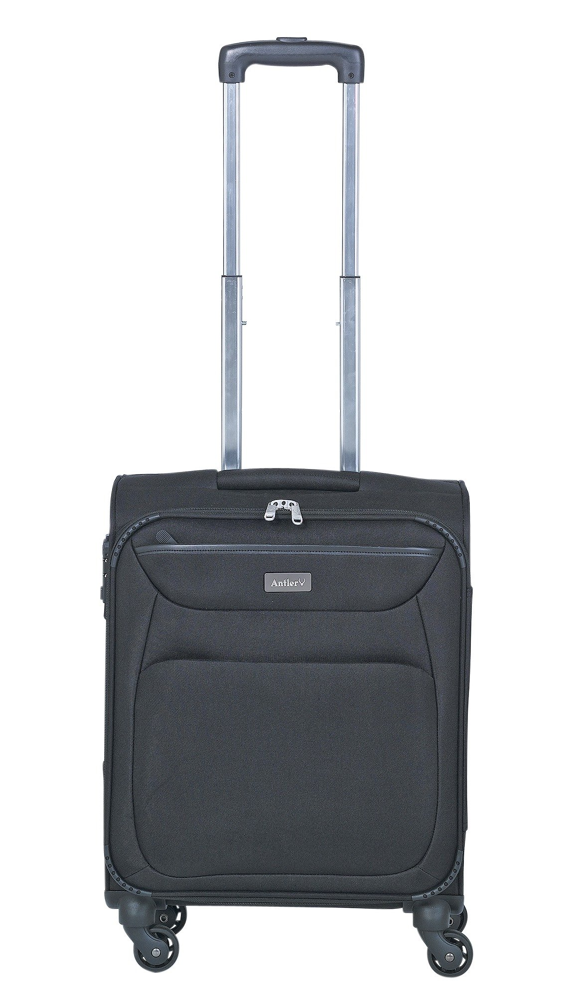 Image of Antler Savanna 4 Wheel Suitcase Black Small