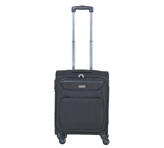 Buy Antler Savanna 4 Wheel Suitcase Black Small at Argos.co.uk ...