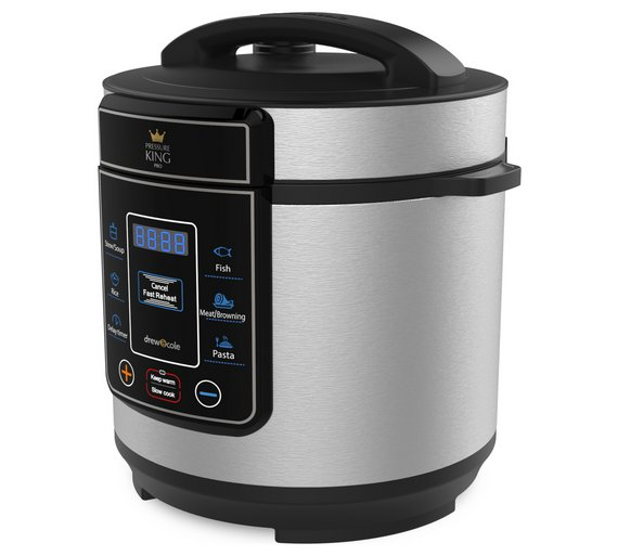 Details about Pressure King Pro 8-in-1 3L Digital Pressure Cooker Audible  Alarm- Chrome NEW_UK