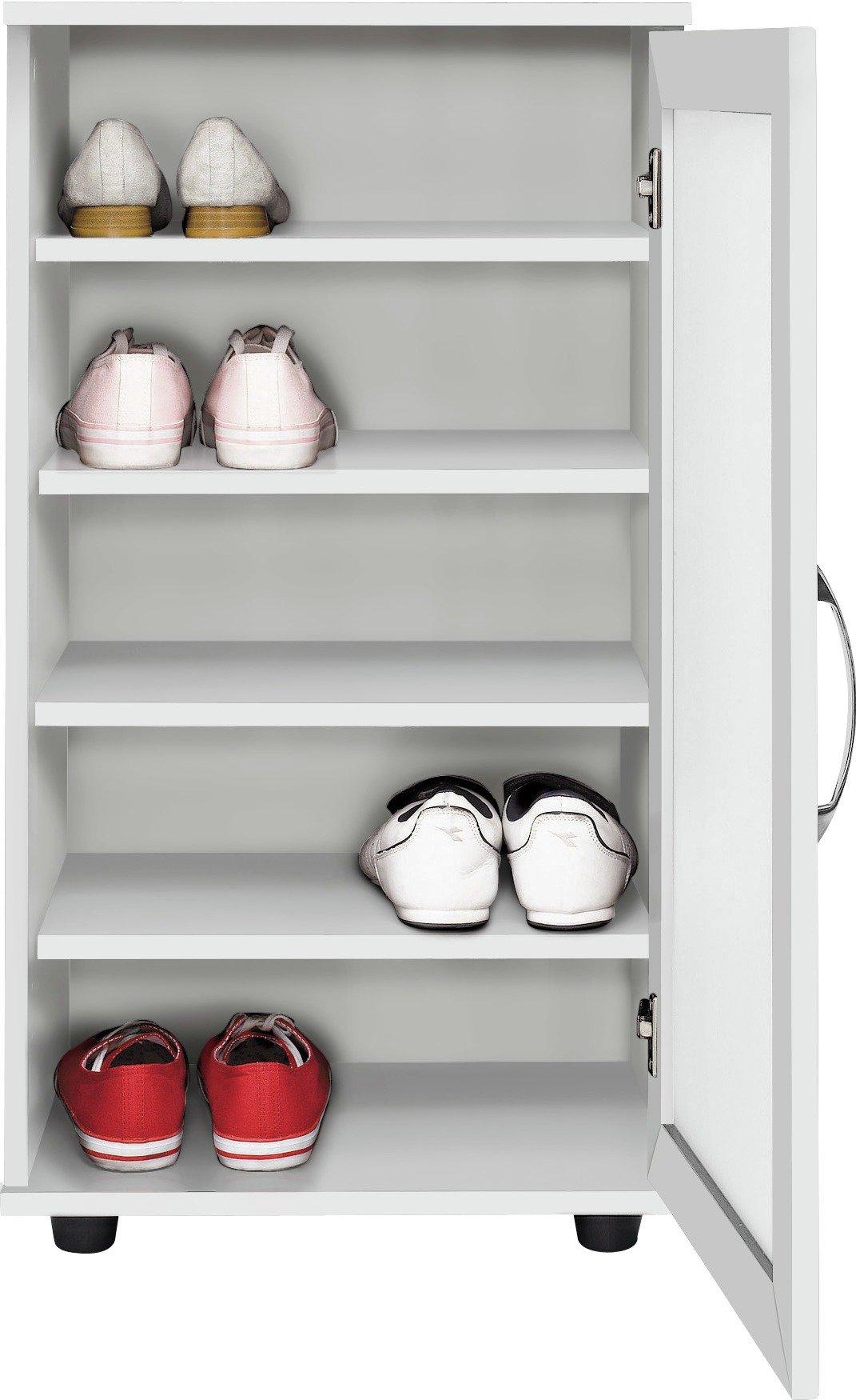 home shoe cabinet white
