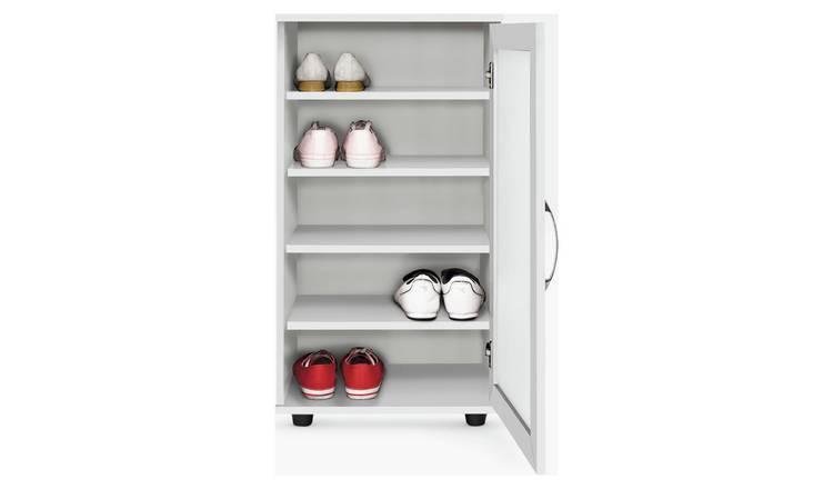 Buy Argos Home Contemporary Shoe Cabinet - White