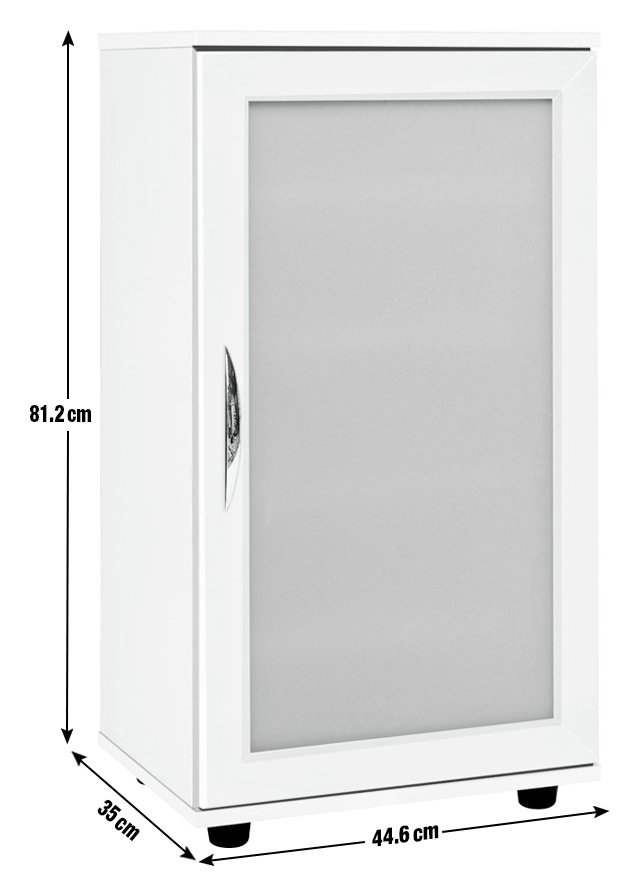 Argos Home Contemporary Shoe Cabinet - White