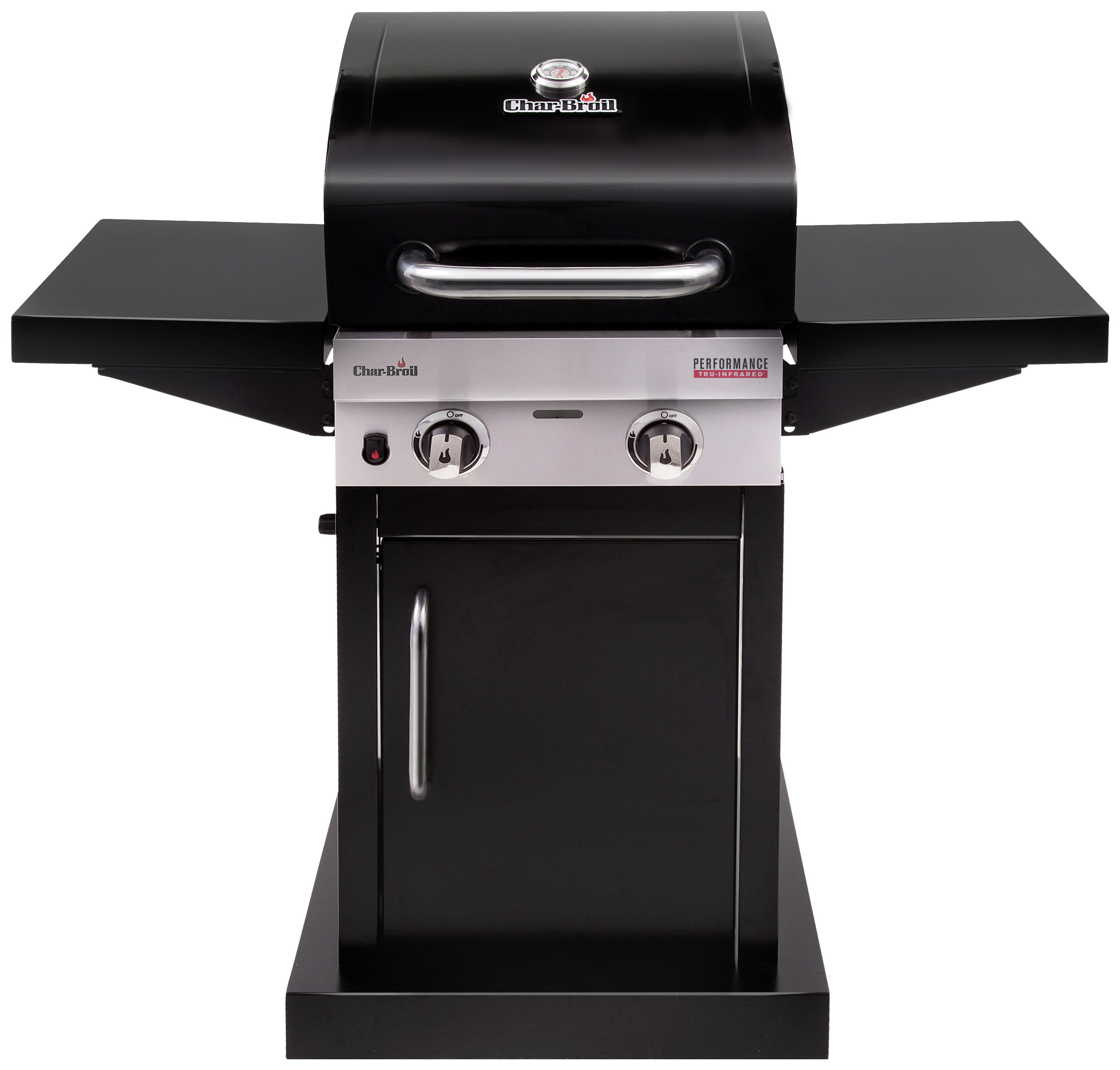 Image of Charbroil 2 Burner Tru Inred - Gas BBQ And Cover