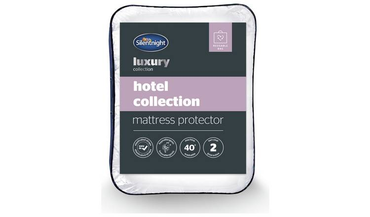 Silentnight Luxury Hotel Collection Mattress Protector - Sgl