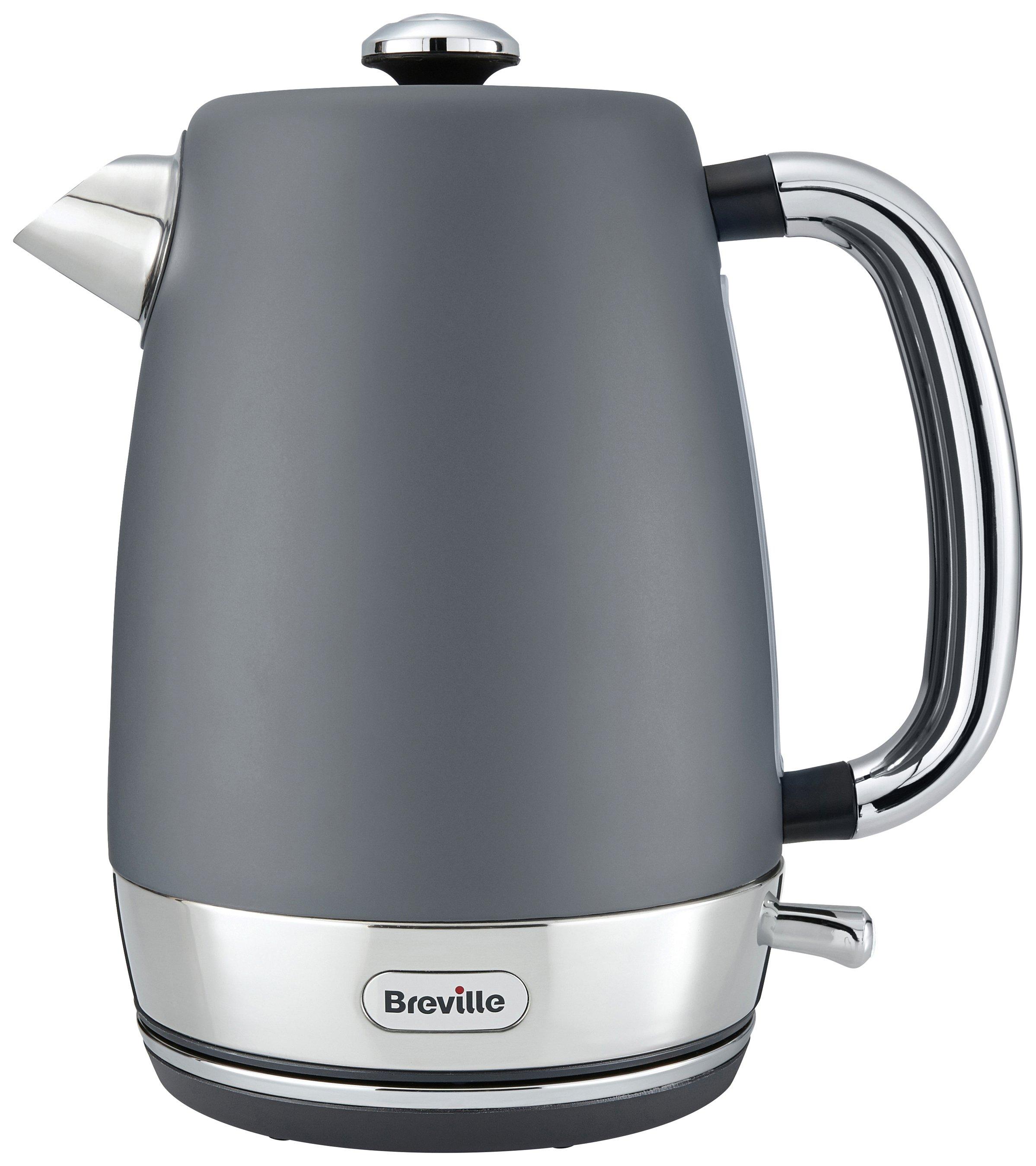 breville strata matt grey kettle kettles. Black Bedroom Furniture Sets. Home Design Ideas