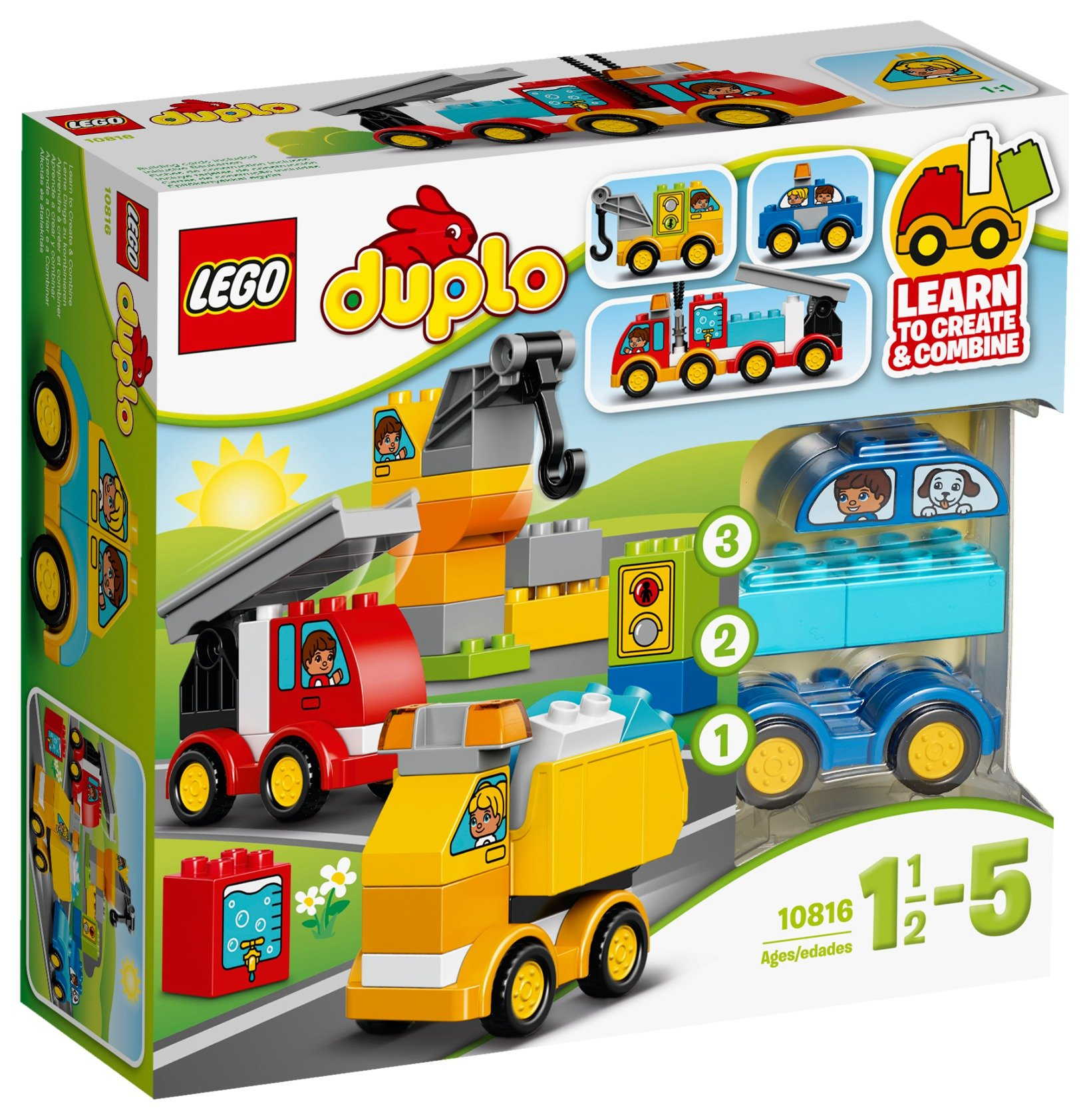 lego duplo my first cars and trucks  10816.