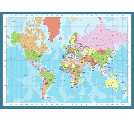 Buy eurographics 1000 piece modern map of the world puzzle at click to zoom gumiabroncs Images