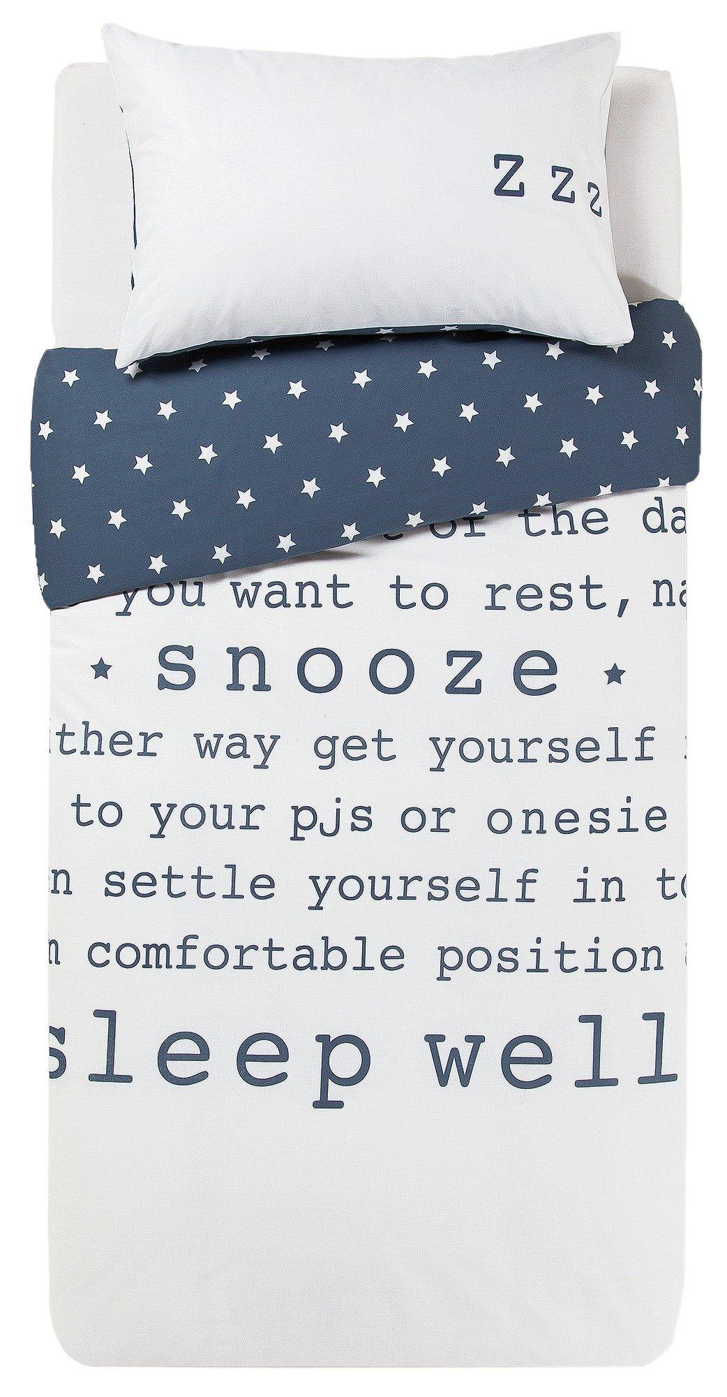 HOME Sleep Bedding Set - Single