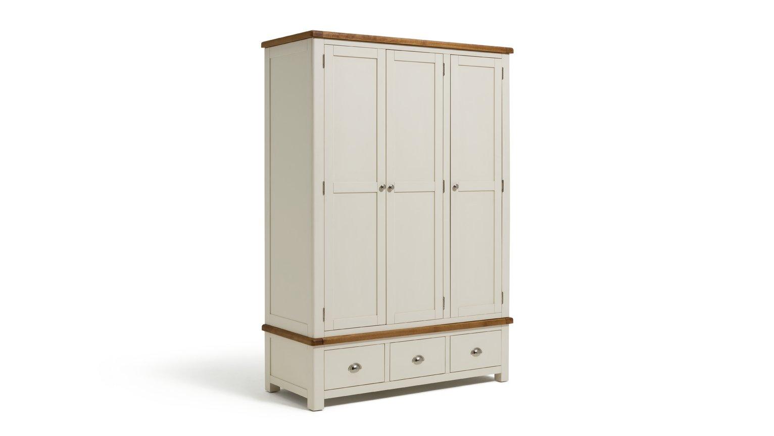 Argos Home Kent 3 Door 3 Drawer Wardrobe