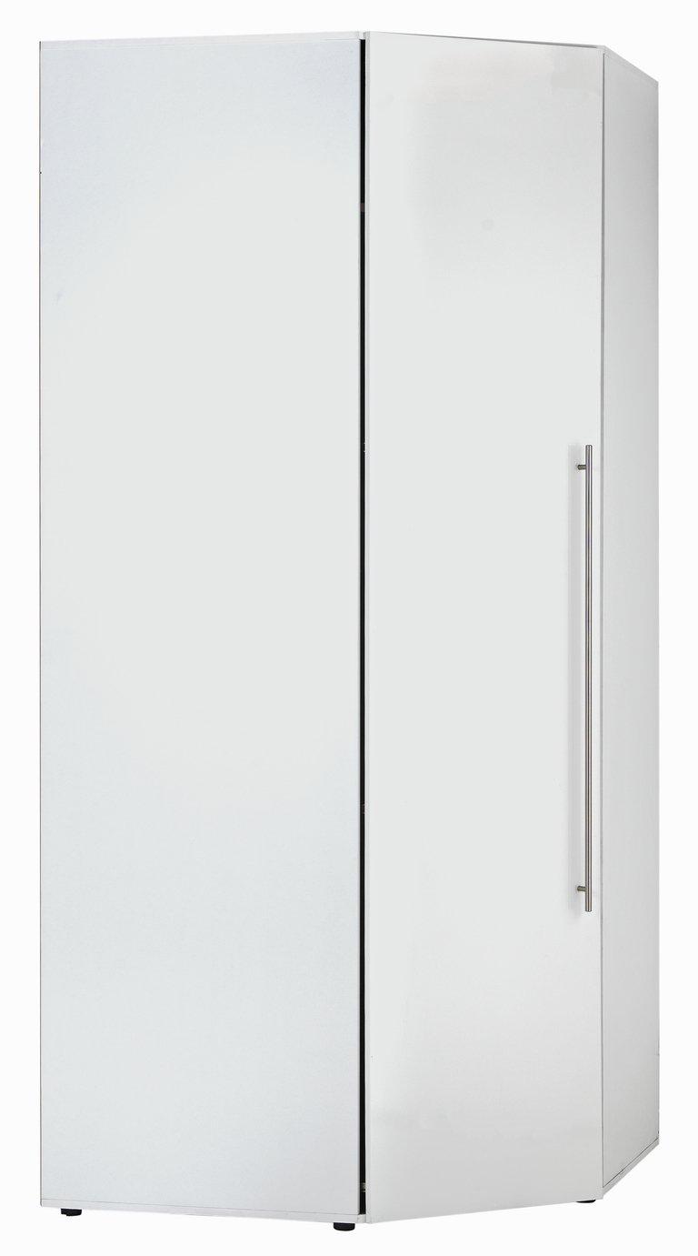 Hygena Atlas Corner Unit - White Gloss