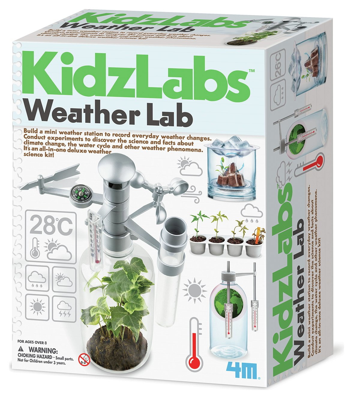 Image of 4M Kidz Labs Weather Lab
