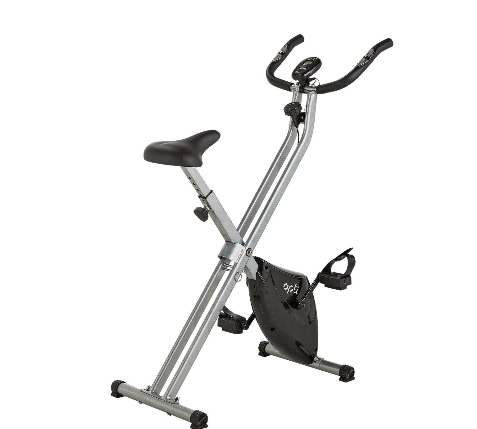 Opti Folding Magentic Exercise Bike