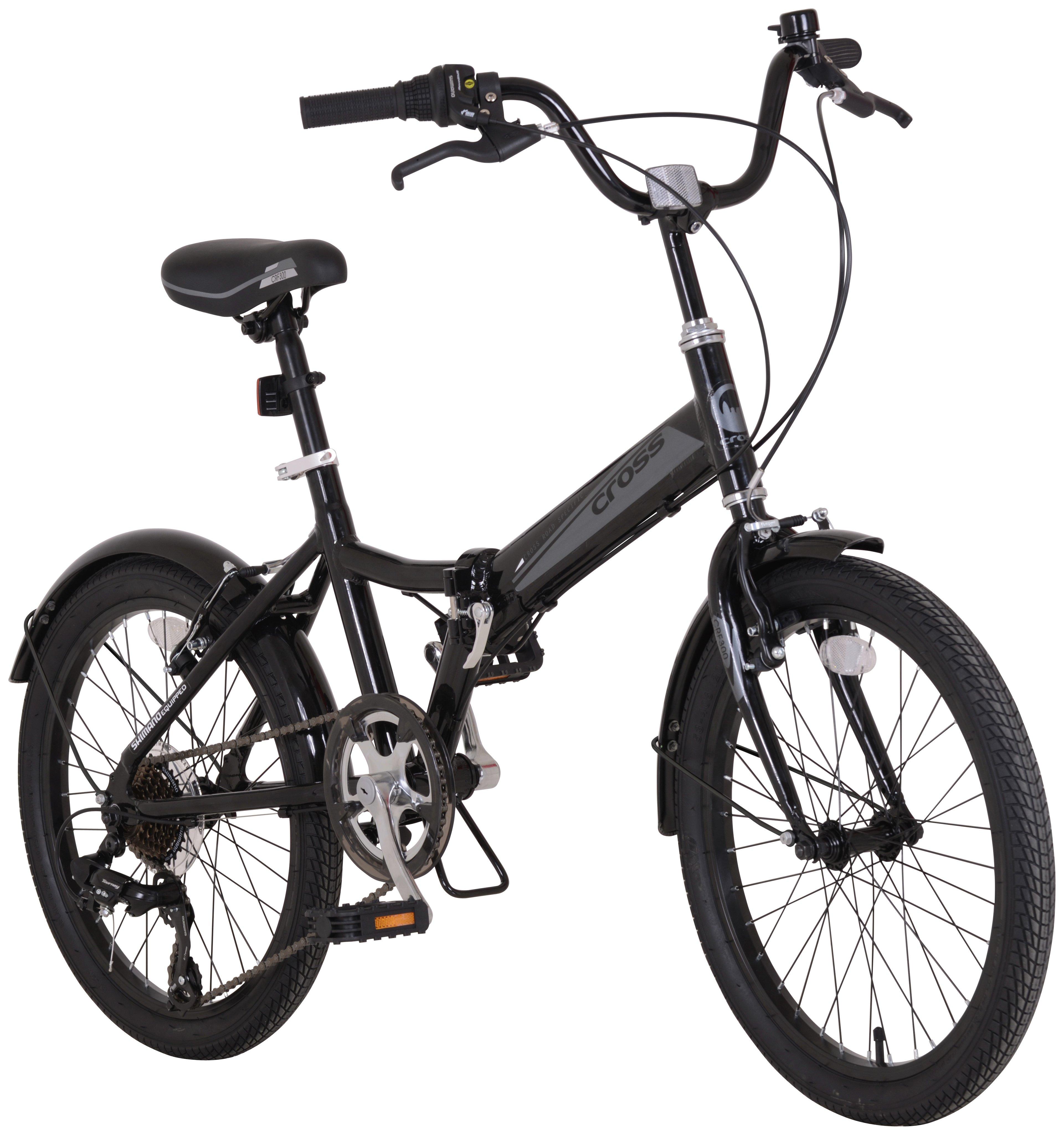 Image of Cross CRF300 Alloy Folding 20in Bike