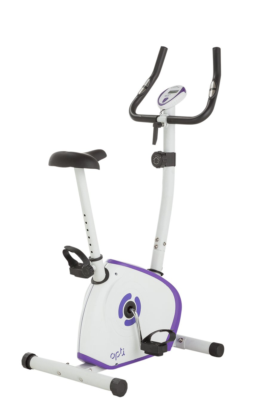 Opti Magnetic Exercise Bike - Purple