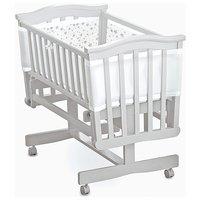 BreathableBaby - Mesh Crib Liner - Twinkle Twinkle