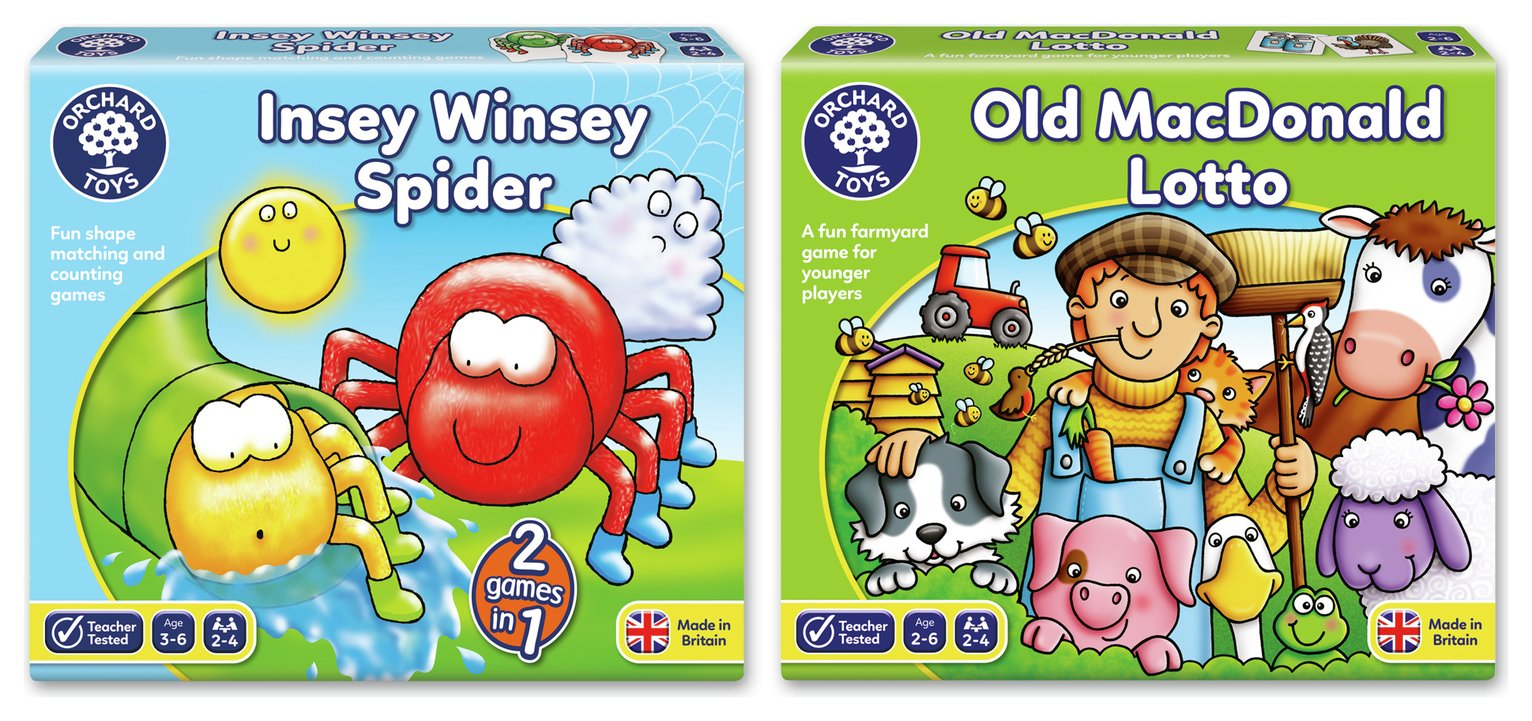 Early Learning Board Games 2 Pack.