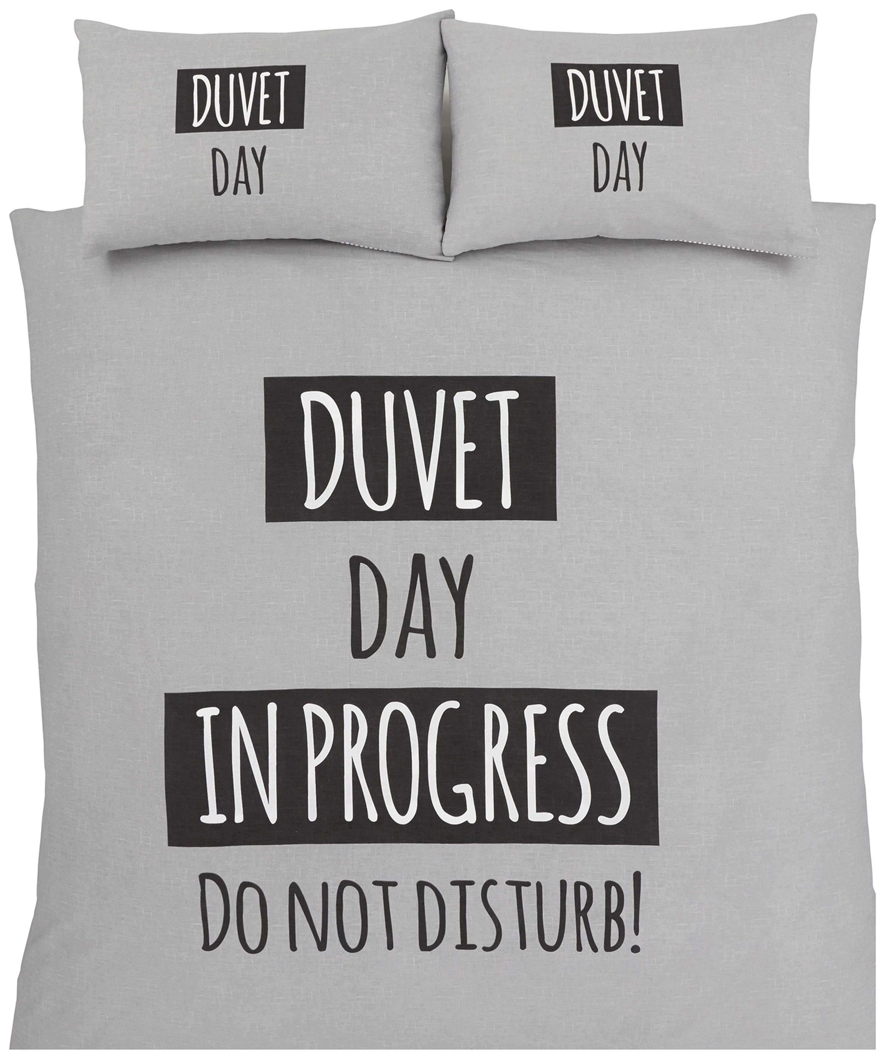 Catherine Lansfield Duvet Day Duvet Cover Set - Double.