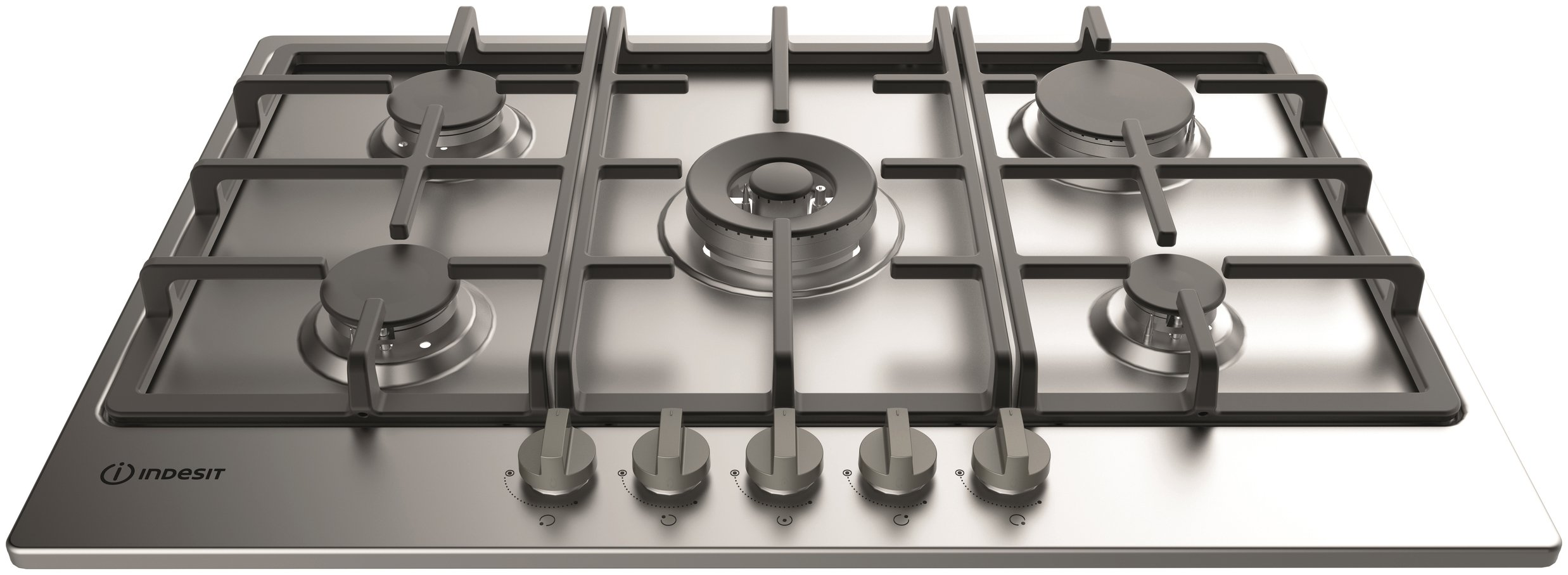 Indesit - THP751WIXI - Gas Hob - Stainless Steel