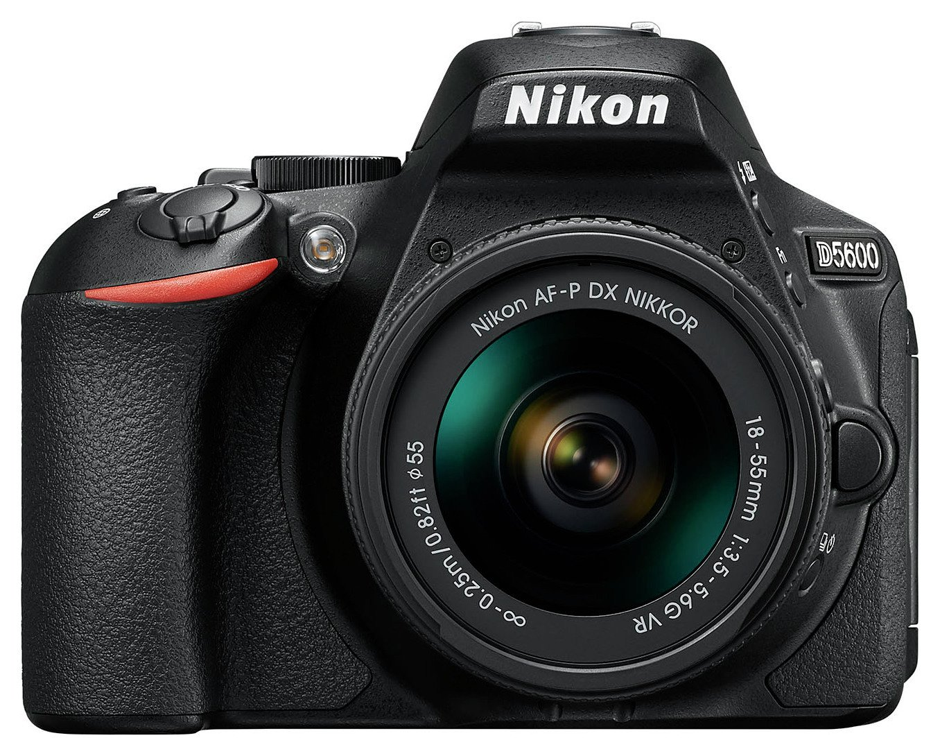 Nikon - Digital SLR Camera - D5600 - 18-55mm VR Lens.