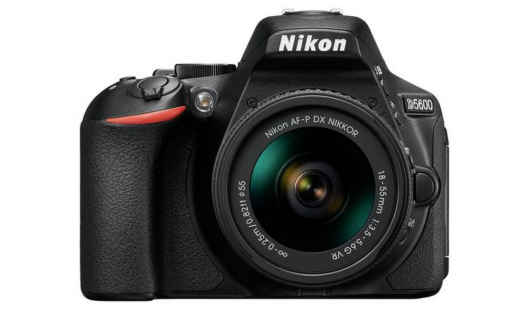 Nikon D5600 DSLR Camera with AF-P DX 18-55mm VR Lens