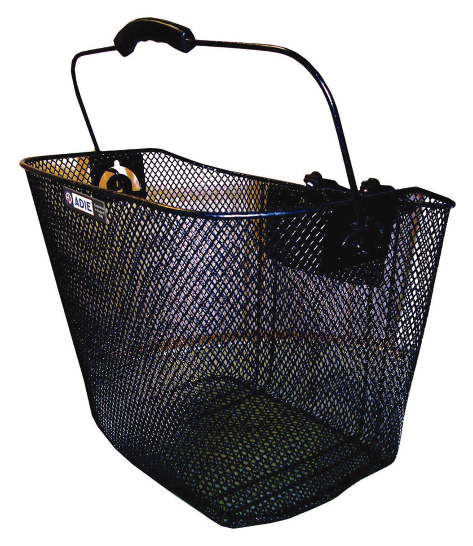 Image of Raleigh - Mesh Basket Black Plastic Holder