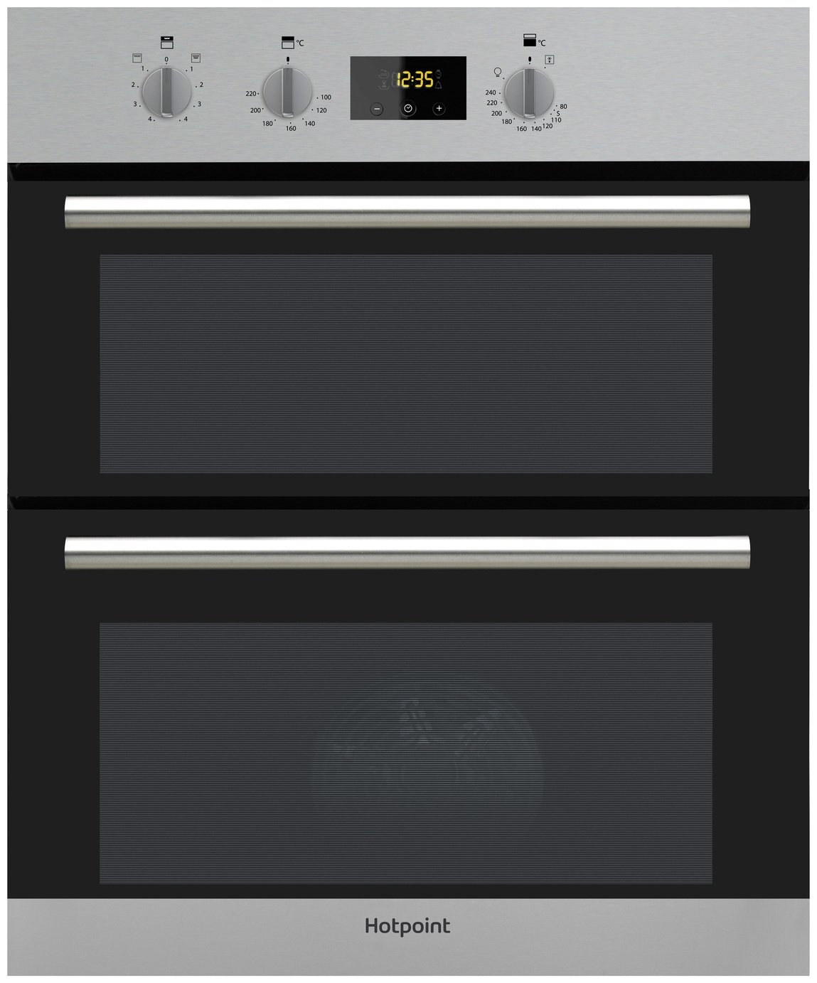 Hotpoint DU2540IX Built In Double Electric Oven - S/Steel