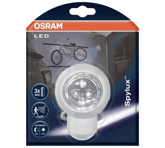 Buy osram spylux sensor night light security lights argos osram spylux sensor night light aloadofball Image collections