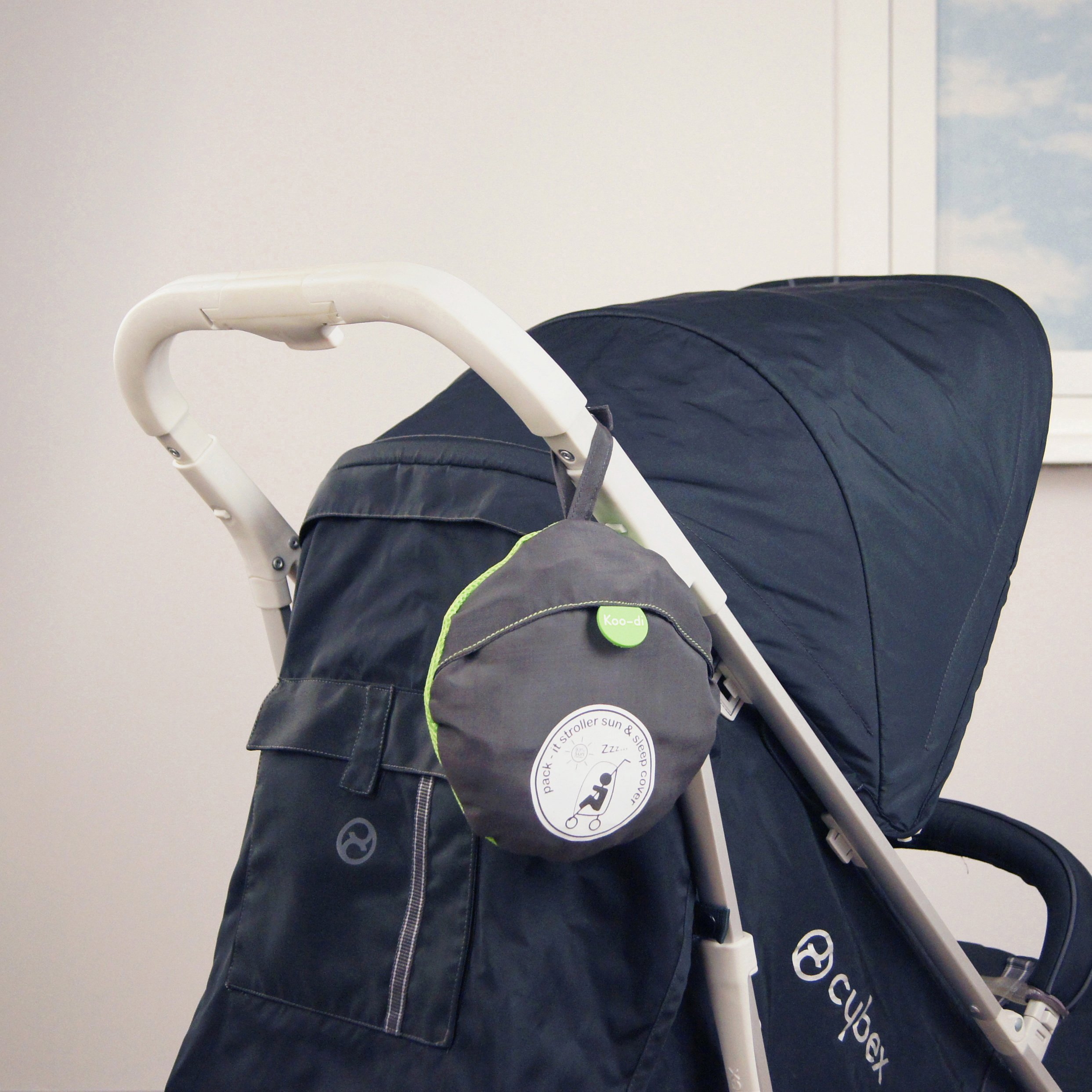 Image of Koo-di Pack-It Sun and Sleep Pushchair Cover.