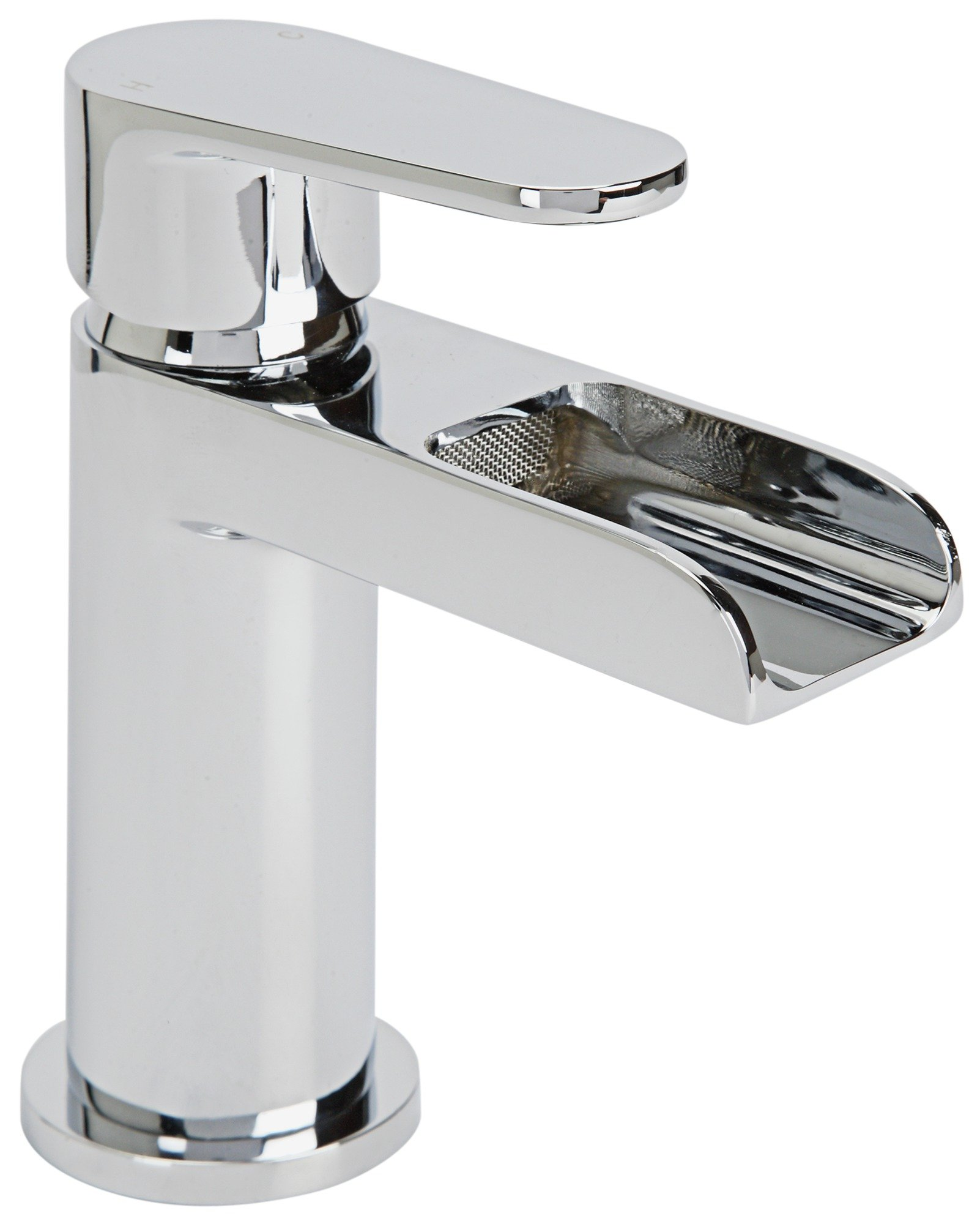 Argos Home Waterfall Chrome Plated Basin Mixer Tap