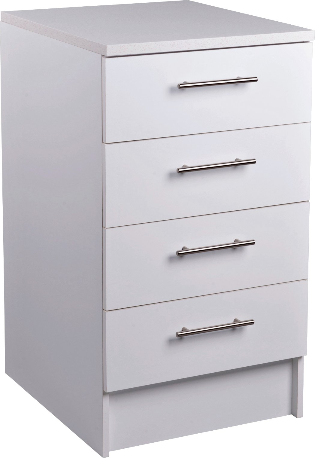 Image of Athina - 3 Piece - Fitted - Kitchen Unit Package - White