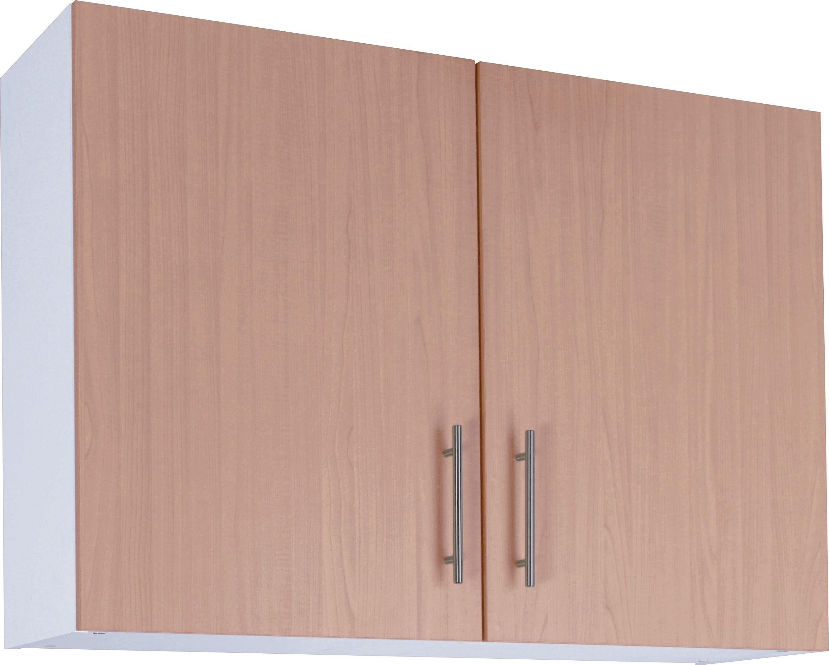 Athina - 1000mm - Fitted - Kitchen Wall Unit - Beech